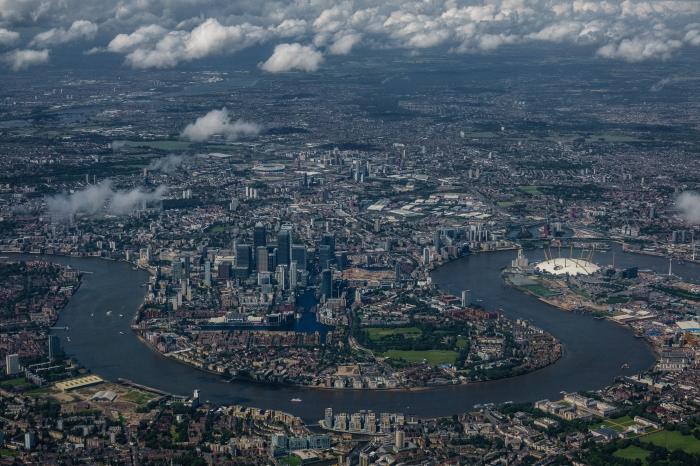Over London - Challenges below